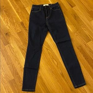 PacSun Super Stretch High Rise Skinny Jean